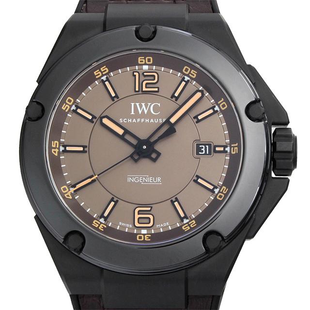 【48回払いまで無金利】IWC インヂュニア オートマティック AMG ブラックシリーズ セラミック IW322504 インジュニア メンズ(007UIWAS0001)【中古】【未使用】【腕時計】【送料無料】