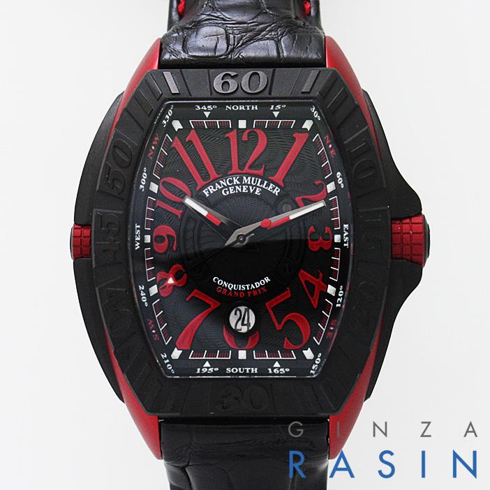 【48回払いまで無金利】フランクミュラー コンキスタドールグランプリ エルガ 8900SC DT GPG メンズ(N-FM8900SCGPGE)【新品】【腕時計】【送料無料】