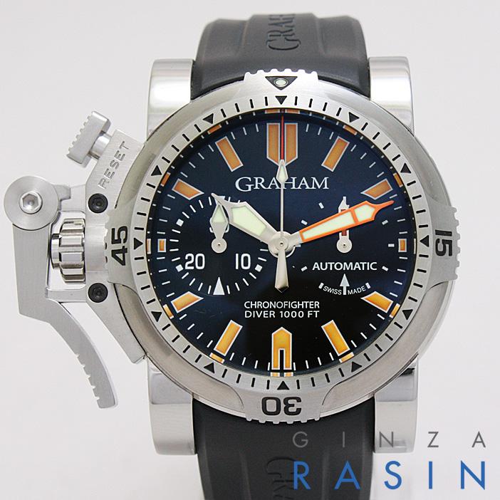 【48回払いまで無金利】グラハム クロノファイター オーバーサイズ ダイバー オレンジシール 20VDIVAS.B02A.K メンズ(N-GR20VDIVAS)【新品】【腕時計】【送料無料】