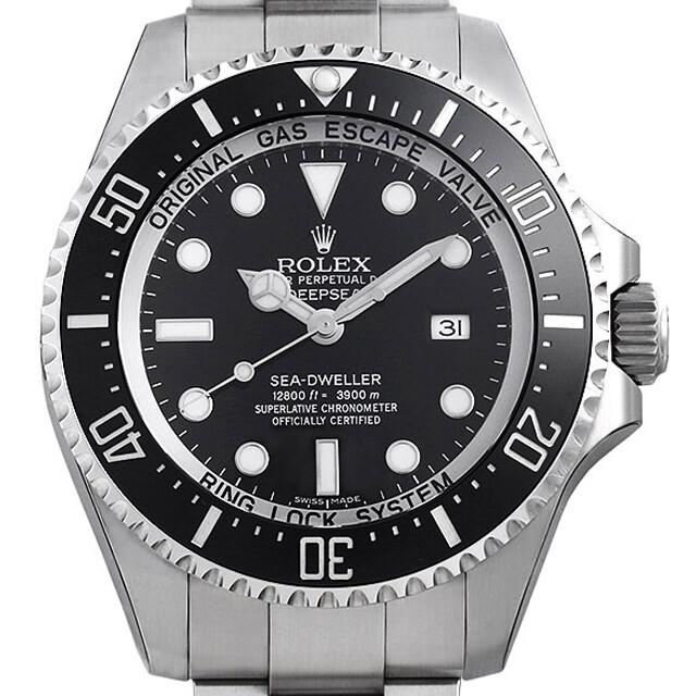 【期間限定ポイント最大10倍!1月24日(木)20時開始】ロレックス ディープシー 116660 ブラック メンズ(06XKROAN0009)【新品】【腕時計】【送料無料】【48回払いまで無金利】