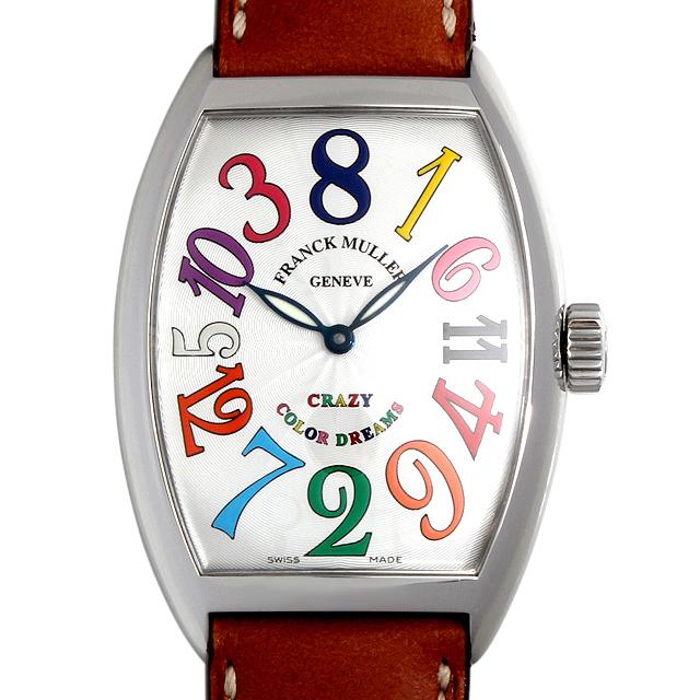 【48回払いまで無金利】SALE フランクミュラー トノーカーベックス クレイジーアワーズ カラードリームス 7851CH CD AC メンズ(001HFRAU0017)【中古】【腕時計】【送料無料】