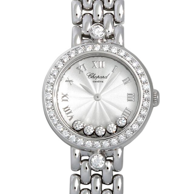 【48回払いまで無金利】SALE ショパール ハッピーダイヤモンド 20/6561 レディース(0063CPAU0006)【中古】【腕時計】【送料無料】