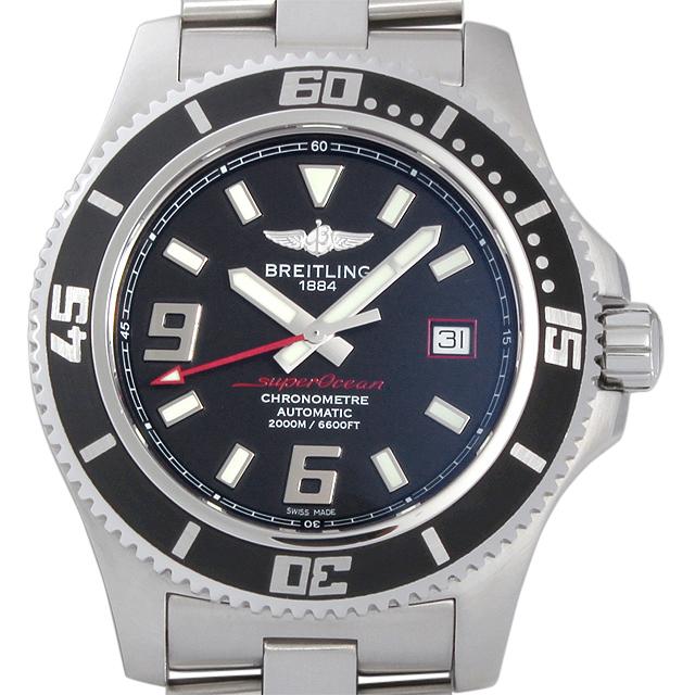 【48回払いまで無金利】ブライトリング スーパーオーシャン アビスレッド A188B76PSS(A17391) メンズ(0087BRAU0018)【中古】【腕時計】【送料無料】