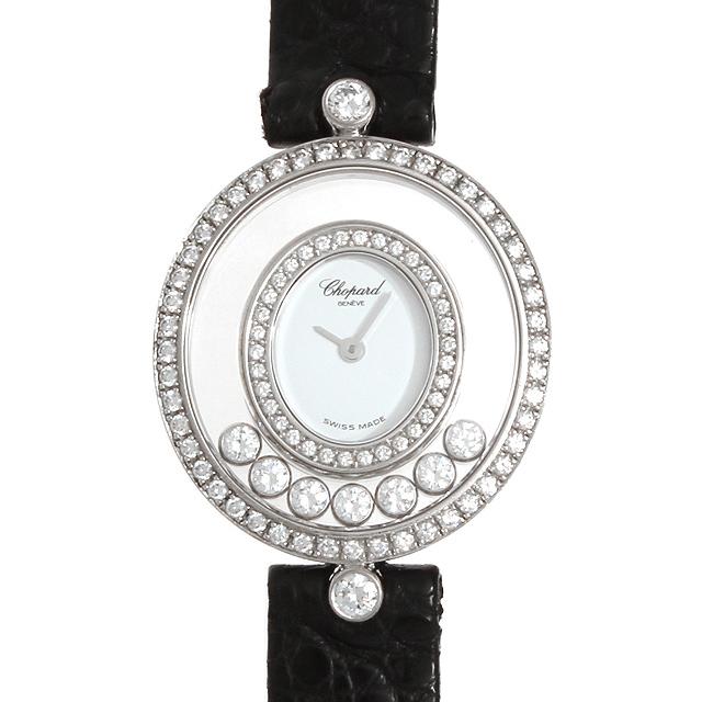 【48回払いまで無金利】ショパール ハッピーダイヤモンド 20/4292 レディース(008WCPAU0020)【中古】【腕時計】【送料無料】
