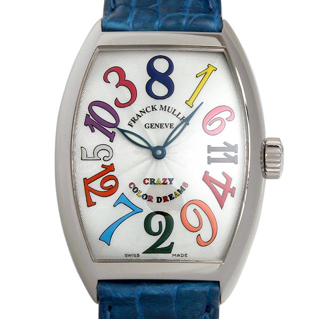 【48回払いまで無金利】SALE フランクミュラー クレイジーアワーズ カラードリームス 7851CH CD OG メンズ(008WFRAU0046)【中古】【腕時計】【送料無料】