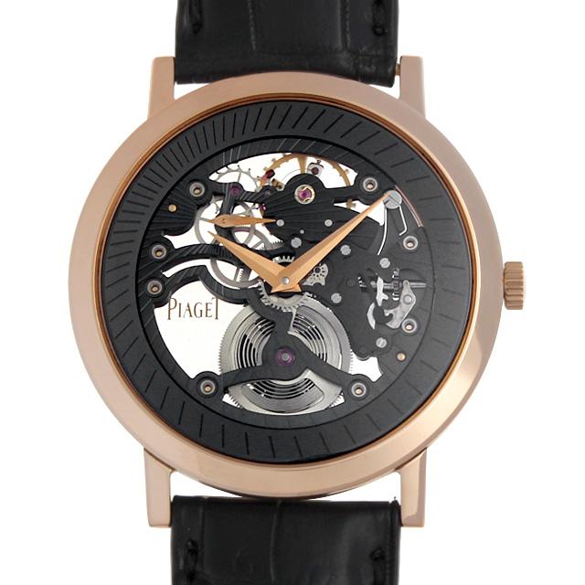 【48回払いまで無金利】SALE ピアジェ アルティプラノ スケルトン G0A34116 メンズ(009FPIAT0001)【中古】【腕時計】【送料無料】