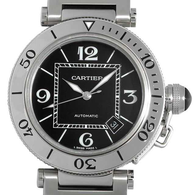 【48回払いまで無金利】カルティエ パシャ シータイマー W31077M7 メンズ(010ZCAAU0004)【中古】【腕時計】【送料無料】