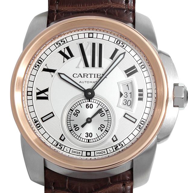 【48回払いまで無金利】カルティエ カリブル ドゥ カルティエ W7100011 メンズ(027JCAAN0010)【新品】【腕時計】【送料無料】