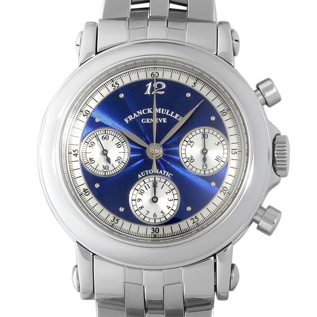 【48回払いまで無金利】SALE フランクミュラー ラウンド クロノグラフ 7000CC OAC メンズ(0042FRAU0004)【中古】【腕時計】【送料無料】