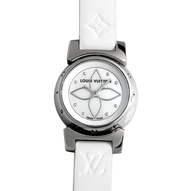 【48回払いまで無金利】ルイヴィトン タンブール ビジュ Q151C レディース(008KLVAU0001)【中古】【腕時計】【送料無料】
