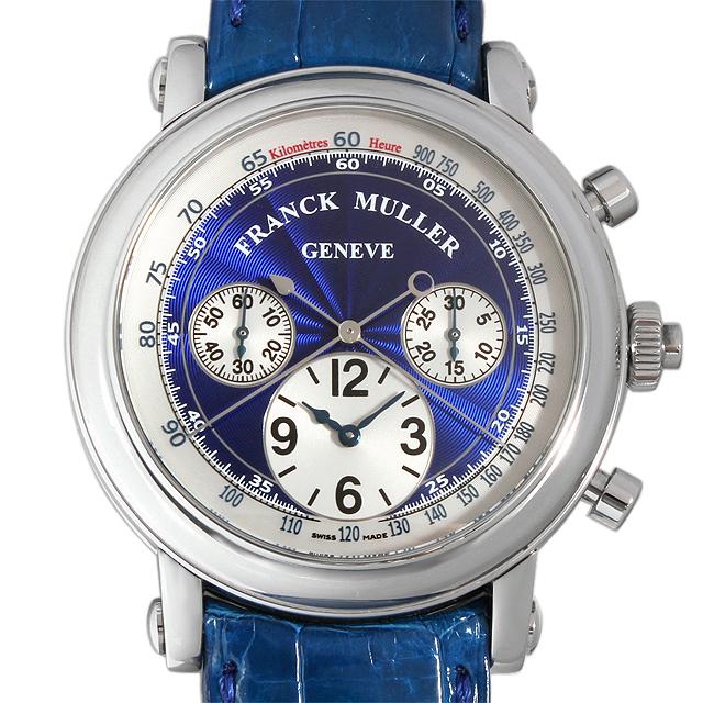 【48回払いまで無金利】SALE フランクミュラー ラウンド スプリットセコンド クロノグラフ 7008CC RC AC メンズ(008WFRAU0048)【中古】【腕時計】【送料無料】