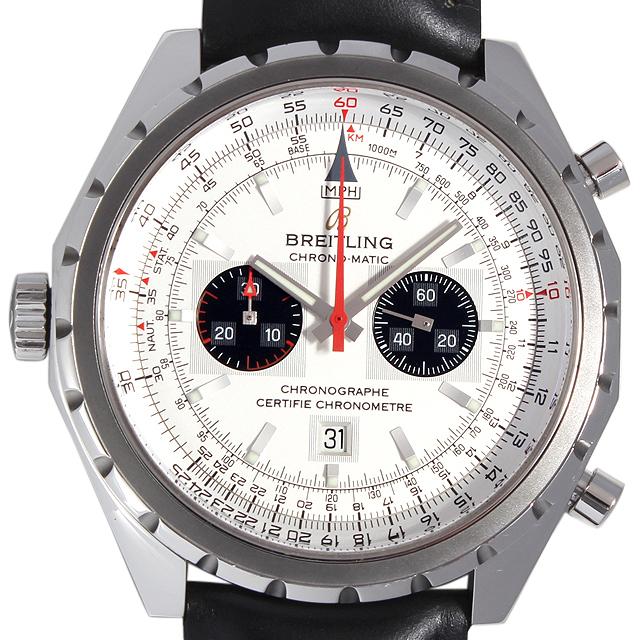 【48回払いまで無金利】ブライトリング クロノマチック A416G89KBA(A41360) メンズ(01CJBRAU0001)【中古】【腕時計】【送料無料】