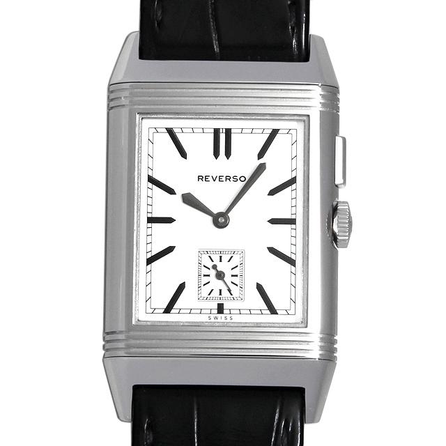 【48回払いまで無金利】ジャガールクルト グランドレベルソ ウルトラスリム デュオ Q3788570(278.8.54) メンズ(01YGJLAU0001)【中古】【腕時計】【送料無料】