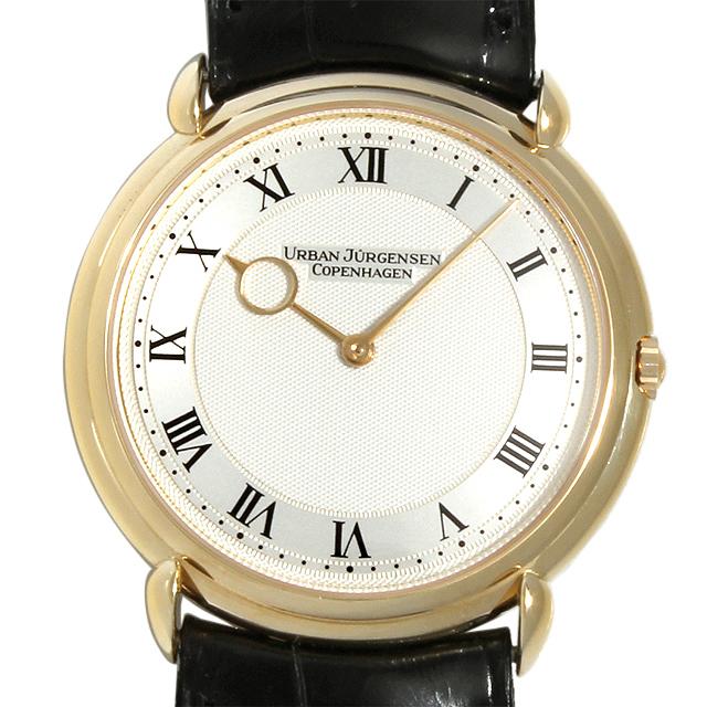 【48回払いまで無金利】ウルバン ヤーゲンセン リファレンス5 Ref.5 メンズ(05DWURAU0002)【中古】【腕時計】【送料無料】