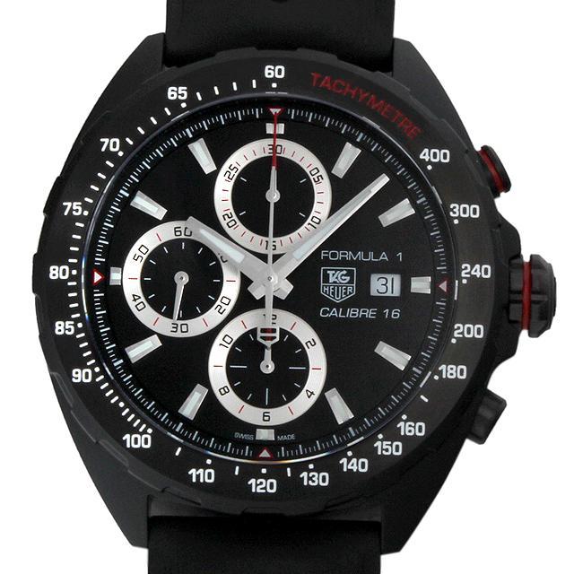 【48回払いまで無金利】タグホイヤー フォーミュラ1 クロノグラフ フルブラック CAZ2011.FT8024 メンズ(002GTHAN0502)【新品】【腕時計】【送料無料】