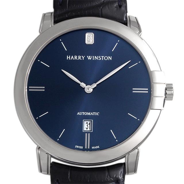 【48回払いまで無金利】SALE ハリーウィンストン ミッドナイト MIDAHD42WW002 メンズ(006XHWAU0014)【中古】【腕時計】【送料無料】