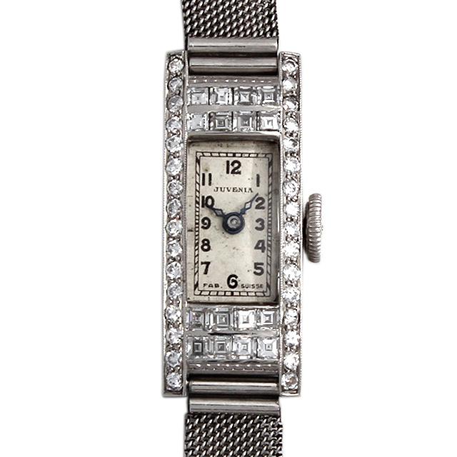 ジュベニア レクタンギュラー ドレスウォッチ レディース(007UJNAA0001)【アンティーク】【腕時計】【送料無料】