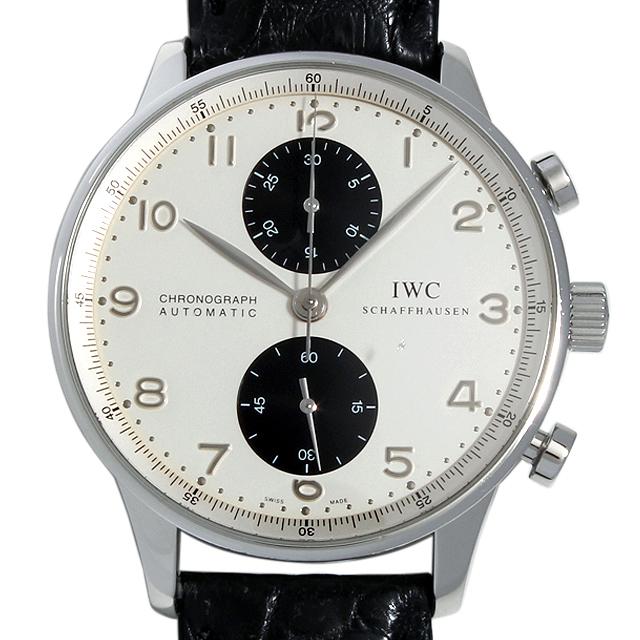 【48回払いまで無金利】SALE IWC ポルトギーゼ クロノグラフ IW371411 メンズ(0087IWAU0008)【中古】【腕時計】【送料無料】