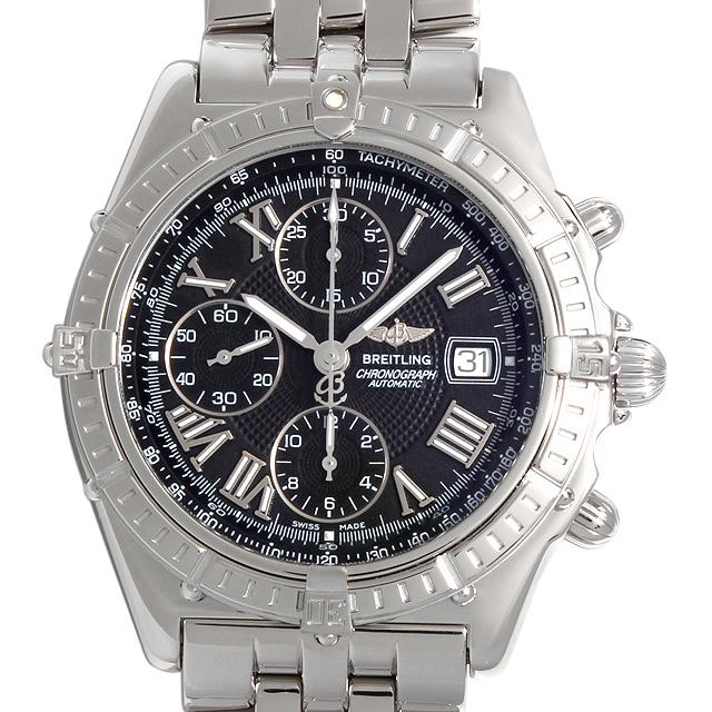 【48回払いまで無金利】ブライトリング クロスウィンド A13055 メンズ(009MBRAU0027)【中古】【腕時計】【送料無料】