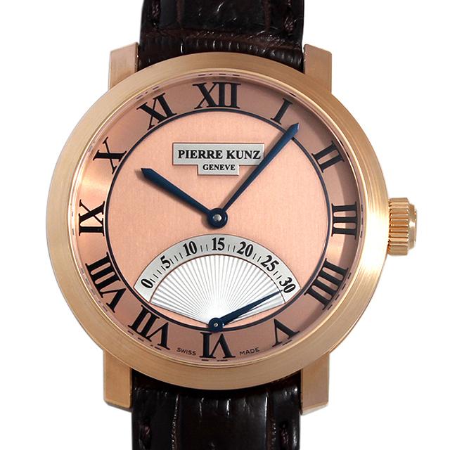 【48回払いまで無金利】ピエールクンツ レトログラード セコンド PKA001SR メンズ(009MPKAU0001)【中古】【腕時計】【送料無料】