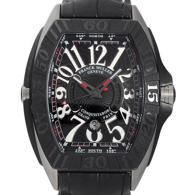 【48回払いまで無金利】フランクミュラー コンキスタドール グランプリ 9900SC GP メンズ(05ENFRAU0001)【中古】【腕時計】【送料無料】