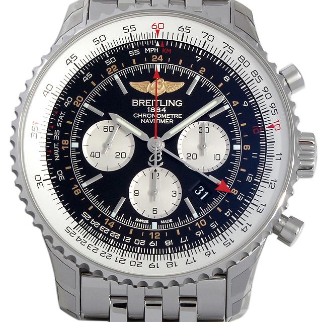 【48回払いまで無金利】ブライトリング ナビタイマーGMT A044B24NP メンズ(015PBRAN0003)【新品】【腕時計】【送料無料】