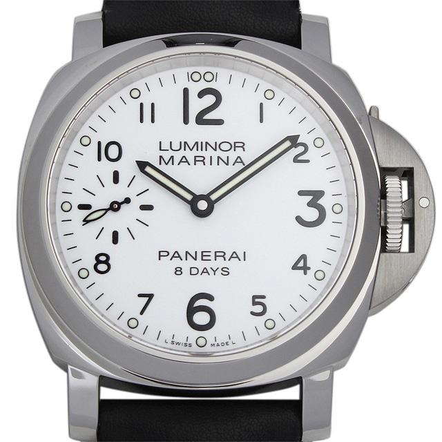 【48回払いまで無金利】パネライ ルミノールマリーナ 8DAYS アッチャイオ PAM00563 メンズ(02RPOPAR0001)【新品】【腕時計】【送料無料】