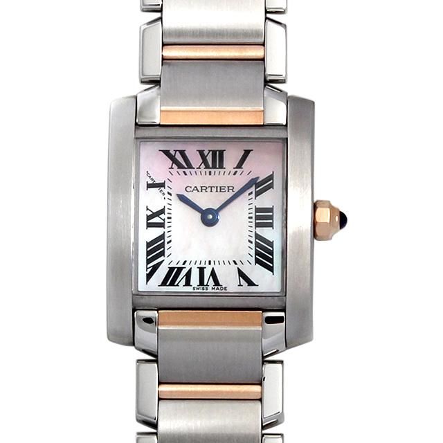 【48回払いまで無金利】カルティエ タンクフランセーズ SM W51027Q4 レディース(007UCAAS0002)【中古】【未使用】【腕時計】【送料無料】