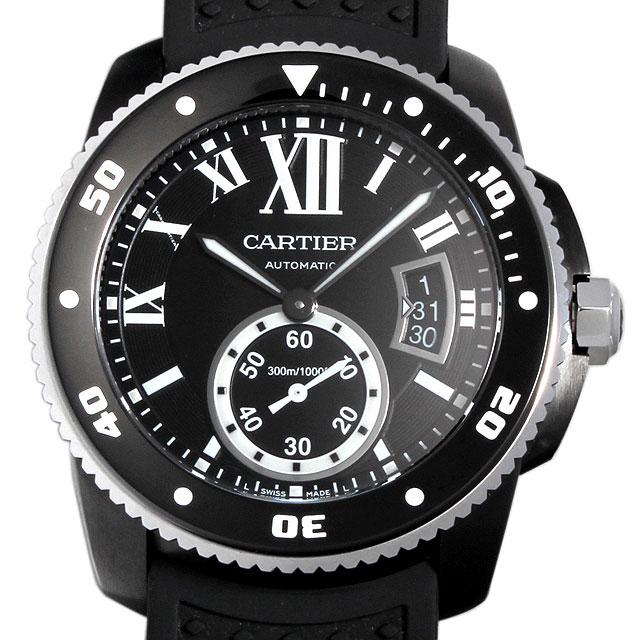 【48回払いまで無金利】カルティエ カリブル ドゥ カルティエ ダイバー WSCA0006 メンズ(027JCAAS0001)【中古】【未使用】【腕時計】【送料無料】