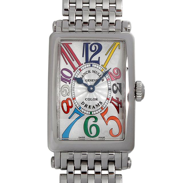 【48回払いまで無金利】SALE フランクミュラー ロングアイランド カラードリーム 902QZ CD OAC レディース(009VFRAU0034)【中古】【腕時計】【送料無料】