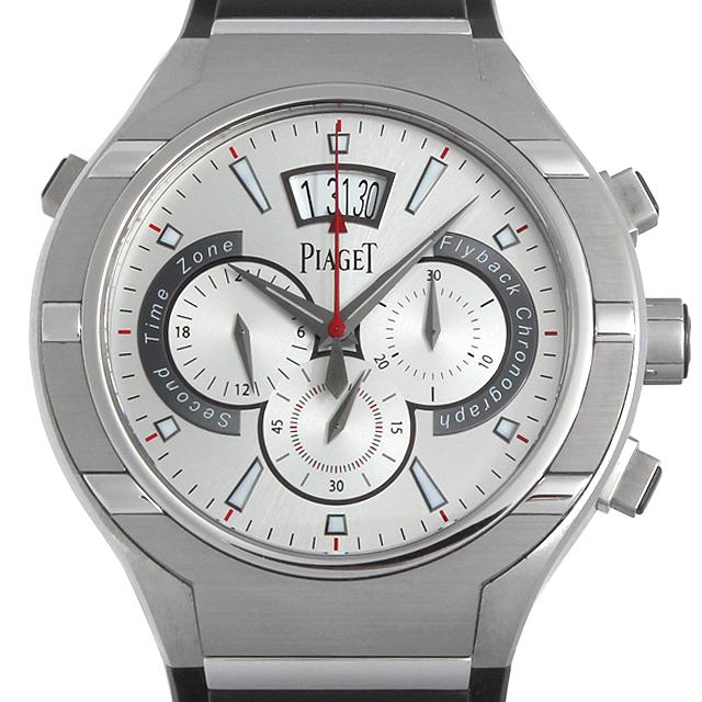 SALE ピアジェ ポロ45 フライバッククロノグラフ G0A34001 メンズ(009VPIAU0003)【中古】【腕時計】【送料無料】