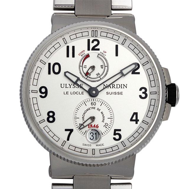 ユリスナルダン マリーン クロノメーター マニュファクチュール 1183-126-7M/61 メンズ(004MUNAN0027)【新品】【腕時計】【送料無料】