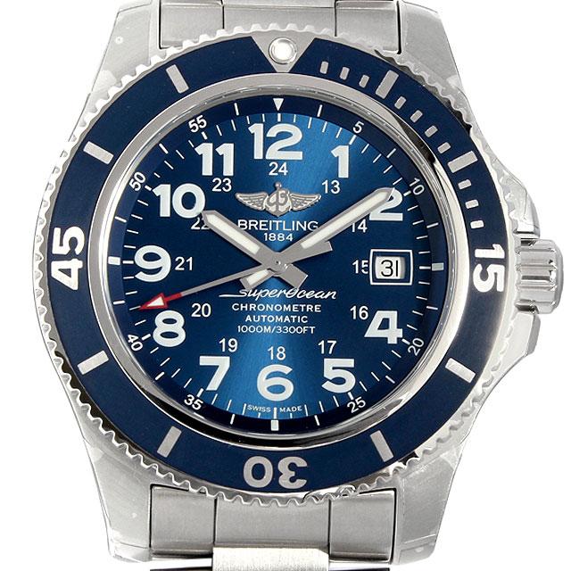ブライトリング スーパーオーシャンII 44 A192C10PSS メンズ(009FBRAN0008)【新品】【腕時計】【送料無料】