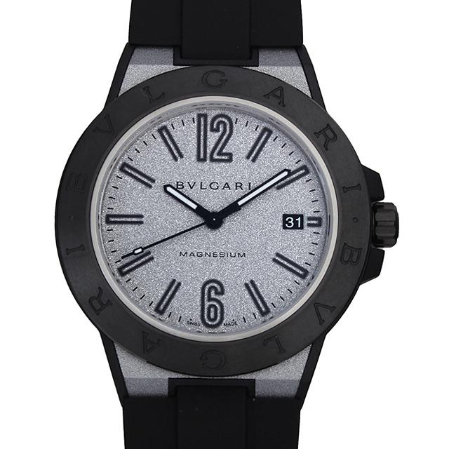 【48回払いまで無金利】ブルガリ ディアゴノ マグネシウム シルバーラッカー DG41C6SMCVD メンズ(007NBVAN0017)【新品】【腕時計】【送料無料】