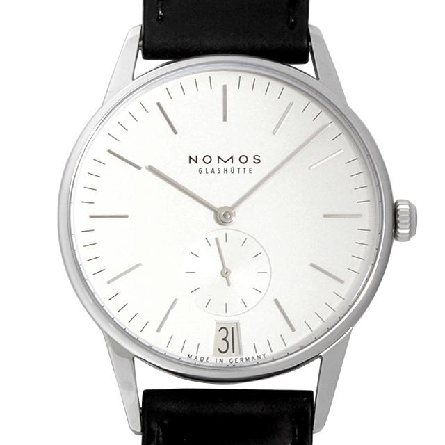 【48回払いまで無金利】ノモス オリオン デイト OR1B3SW2(381) メンズ(0671NOAN0028)【新品】【腕時計】【送料無料】