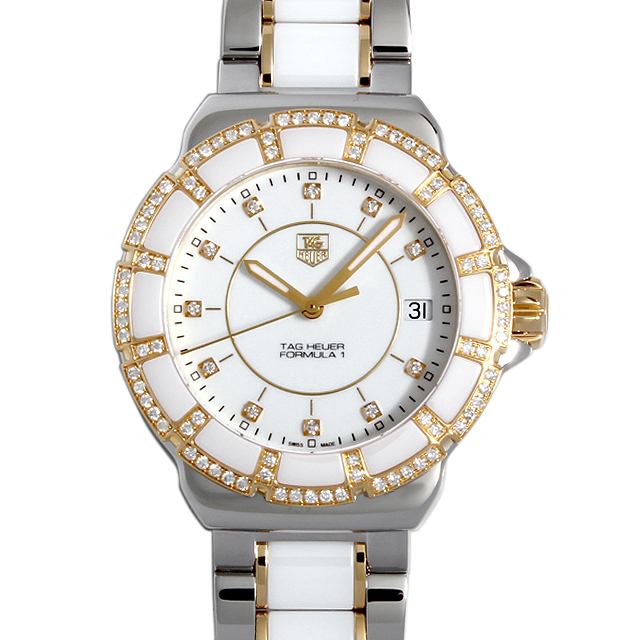 【48回払いまで無金利】タグホイヤー フォーミュラ1 ダイヤモンド WAH1221.BB0865 レディース(004UTHAN0024)【新品】【腕時計】【送料無料】