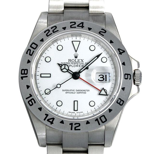 【48回払いまで無金利】ロレックス エクスプローラーII G番 16570 メンズ(001HROAS0001)【中古】【未使用】【腕時計】【送料無料】