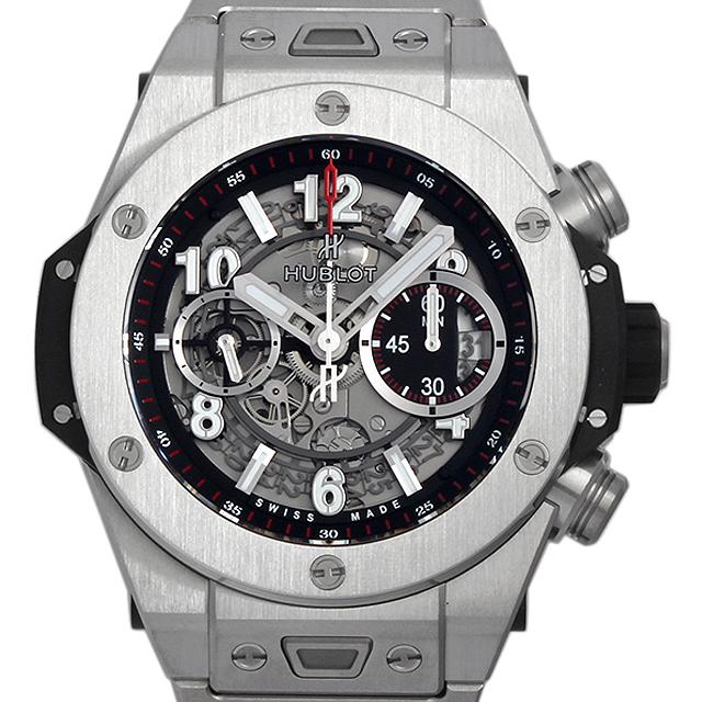 ウブロ ビッグバン ウニコ チタニウム ブレスレット 411.NX.1170.NX メンズ(004YHBAN0016)【新品】【腕時計】【送料無料】