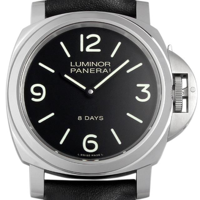 【48回払いまで無金利】パネライ ルミノールベース 8DAYS アッチャイオ PAM00560 メンズ(0671OPAN0002)【新品】【腕時計】【送料無料】