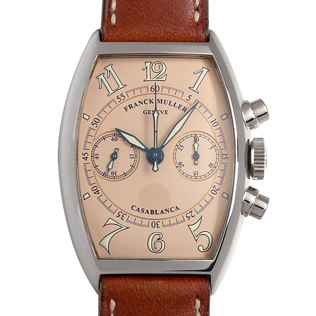 SALE フランクミュラー カサブランカ クロノグラフ 5850C CC OG メンズ(0014FRAU0005)【中古】【腕時計】【送料無料】