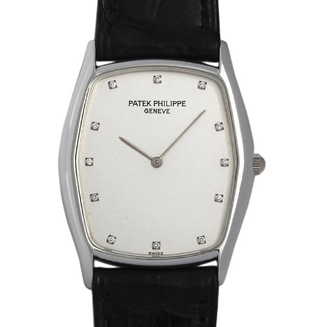 【48回払いまで無金利】SALE パテックフィリップ ゴンドーロ 12Pダイヤ 3842P メンズ(006XPPAU0035)【中古】【腕時計】【送料無料】