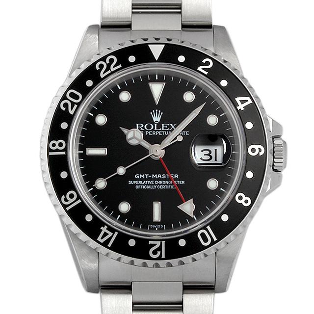 【48回払いまで無金利】SALE ロレックス GMTマスター 黒ベゼル A番 16700 メンズ(006XROAU0258)【中古】【腕時計】【送料無料】