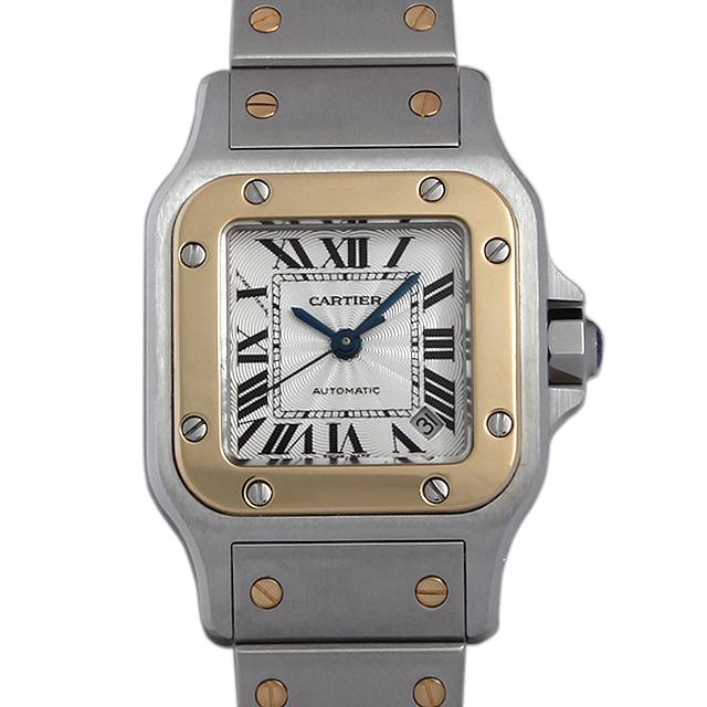【48回払いまで無金利】カルティエ サントスガルベ W20057C4 レディース(0087CAAU0037)【中古】【腕時計】【送料無料】