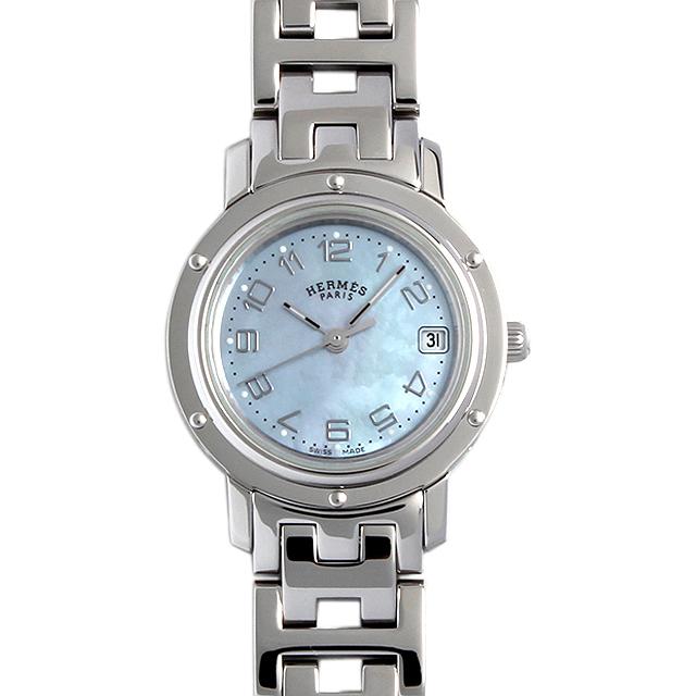 【48回払いまで無金利】エルメス クリッパー CL4.210 レディース(008KHEAU0004)【中古】【腕時計】【送料無料】