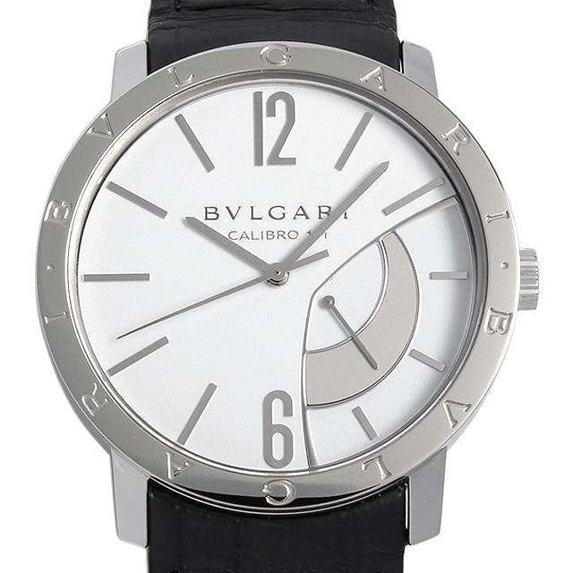 【48回払いまで無金利】SALE ブルガリ ブルガリブルガリ リザーブ ド マルシェ BB43WSL(BB43SRM) メンズ(008WBVAU0004)【中古】【腕時計】【送料無料】