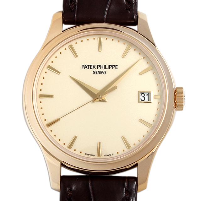 SALE パテックフィリップ カラトラバ オフィサー 5227J-001 メンズ(008WPPAU0042)【中古】【腕時計】【送料無料】