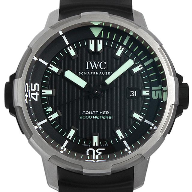 【48回払いまで無金利】IWC アクアタイマー オートマティック 2000 IW358002 メンズ(06Q4IWAU0001)【中古】【腕時計】【送料無料】