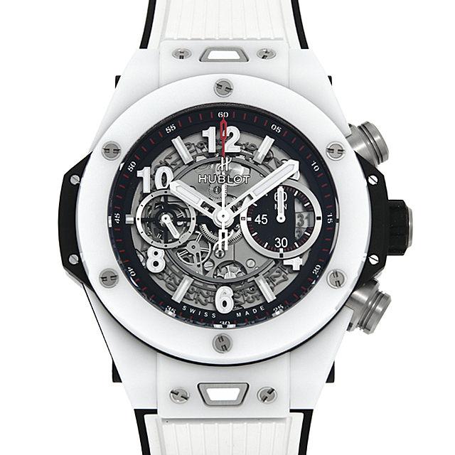 ウブロ ビッグバン ウニコ ホワイトセラミック 411.HX.1170.RX メンズ(009FHBAN0161)【新品】【腕時計】【送料無料】