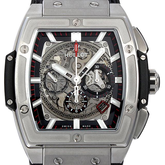 【48回払いまで無金利】ウブロ スピリット オブ ビッグバン チタニウム 601.NX.0173.LR メンズ(009FHBAR0061)【新品】【腕時計】【送料無料】
