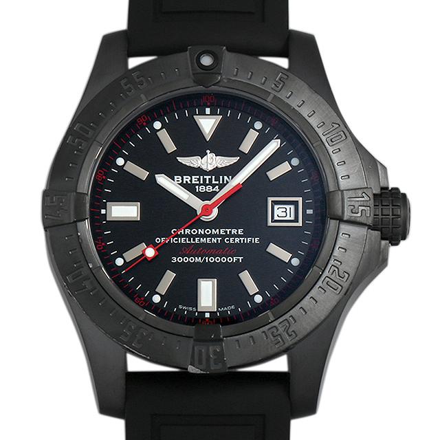 【48回払いまで無金利】ブライトリング アベンジャー シーウルフ ブラックスティール 限定1000本 M177B45RPB(M17330) メンズ(006XBRAU0047)【中古】【腕時計】【送料無料】